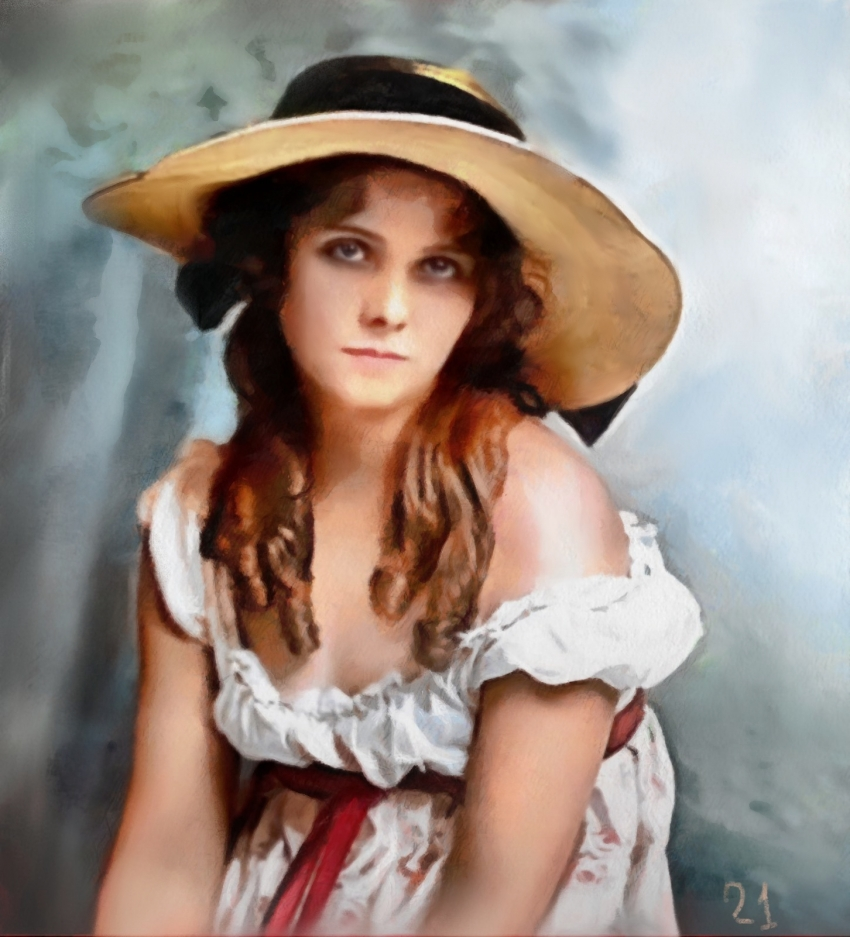 Olive Thomas by baudet